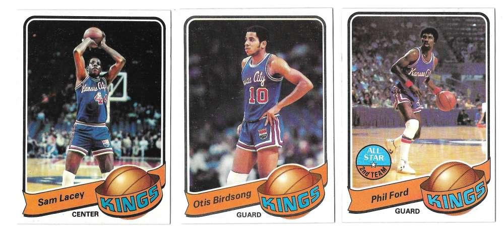 1979-80 Topps Basketball Team Set - Kansas City Kings