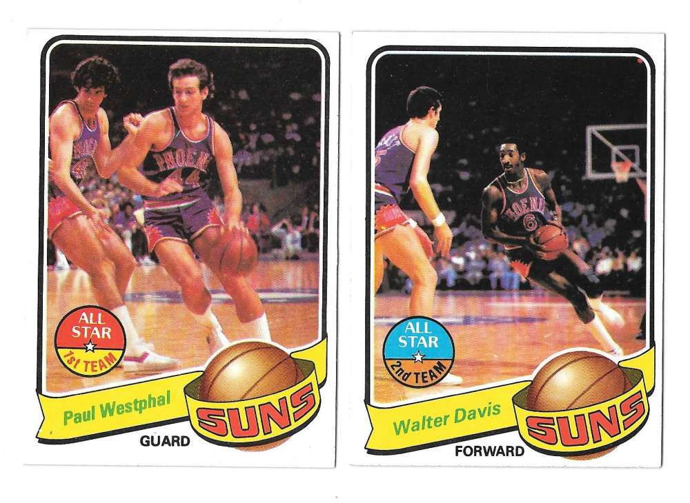 1979-80 Topps Basketball Team Set - Phoenix Suns