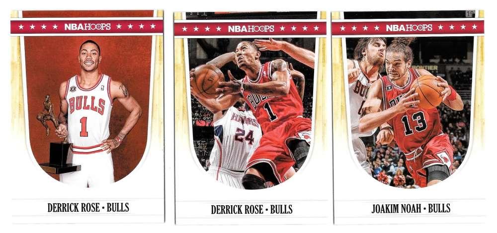 2011-12 Hoops Basketball Team Set - Chicago Bulls