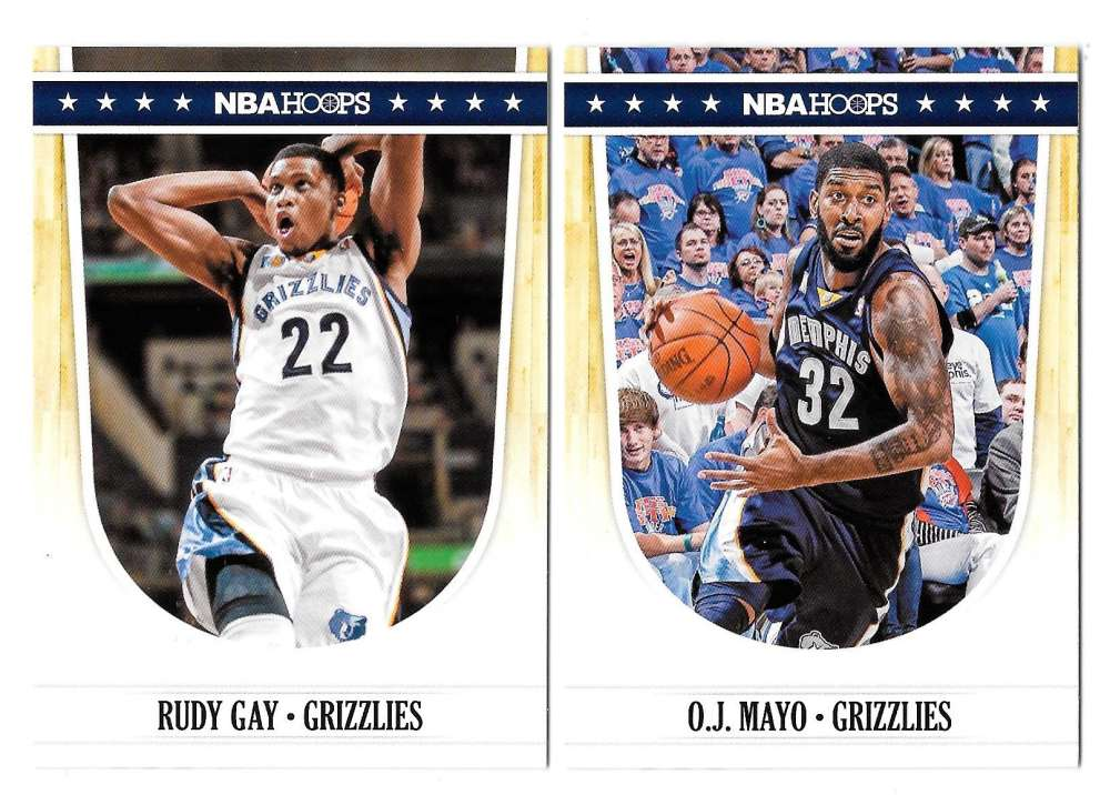 2011-12 Hoops Basketball Team Set - Memphis Grizzlies
