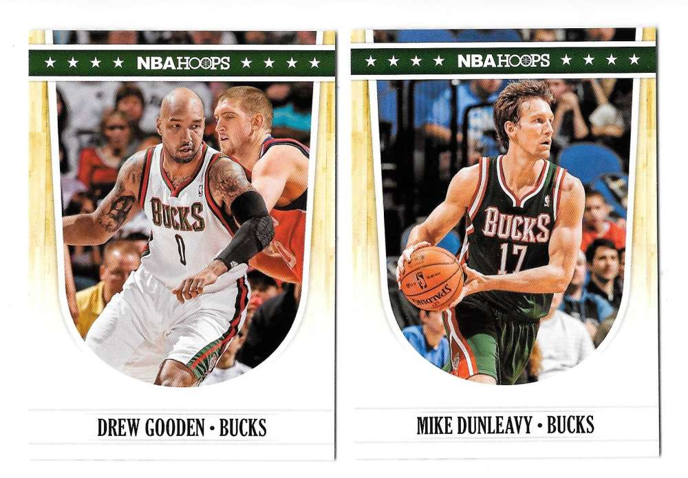 2011-12 Hoops Basketball Team Set - Milwaukee Bucks