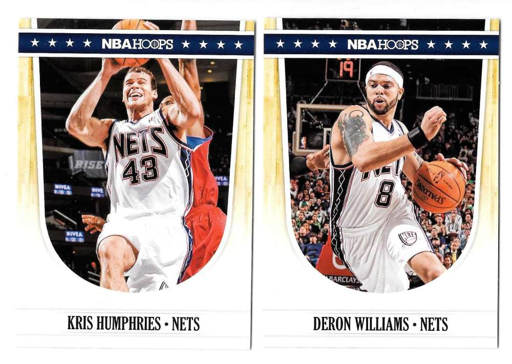2011-12 Hoops Basketball Team Set - New Jersey Nets