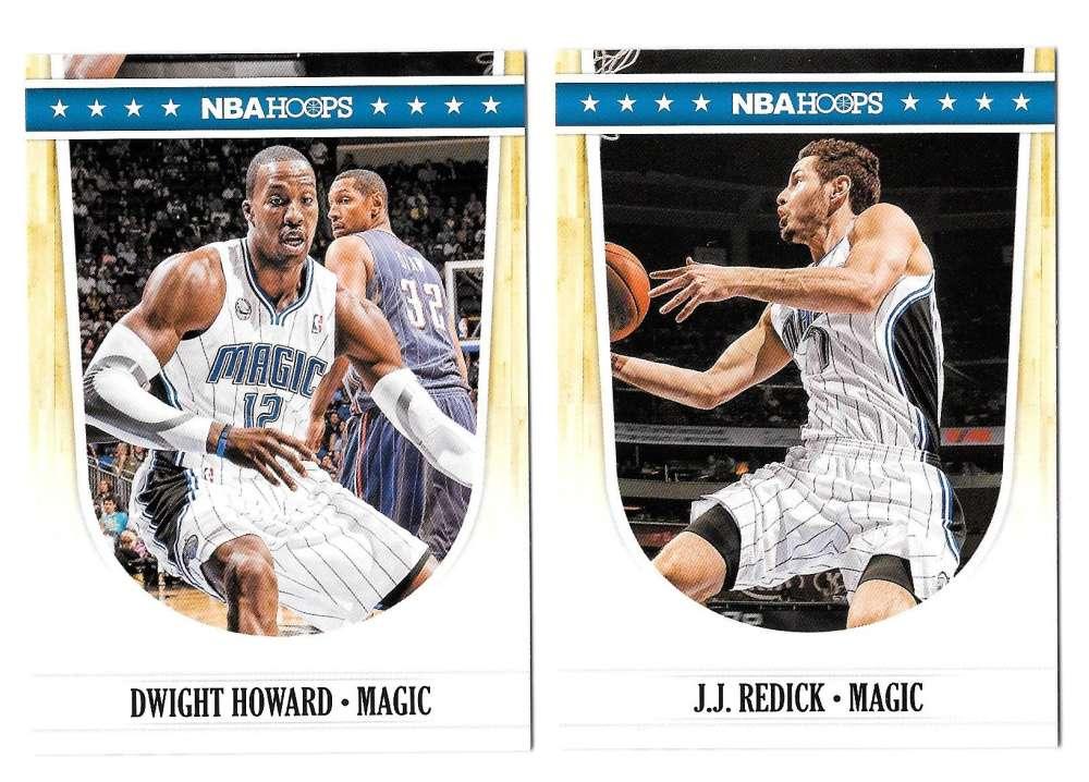 2011-12 Hoops Basketball Team Set - Orlando Magic