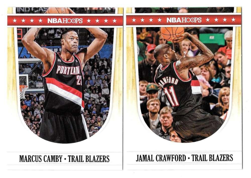 2011-12 Hoops Basketball Team Set - Portland Trail Blazers