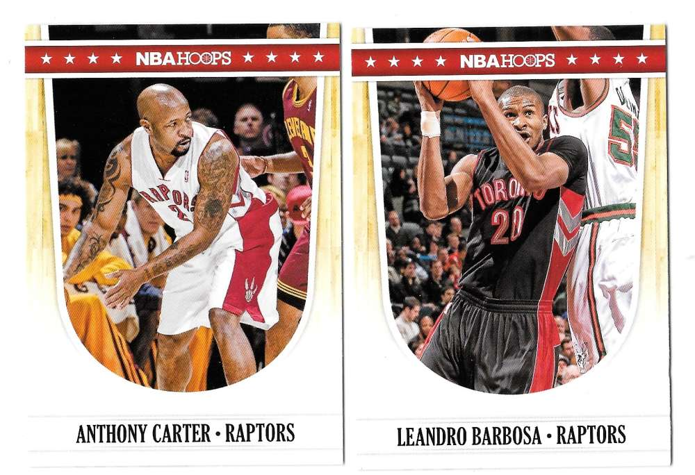2011-12 Hoops Basketball Team Set - Toronto Raptors