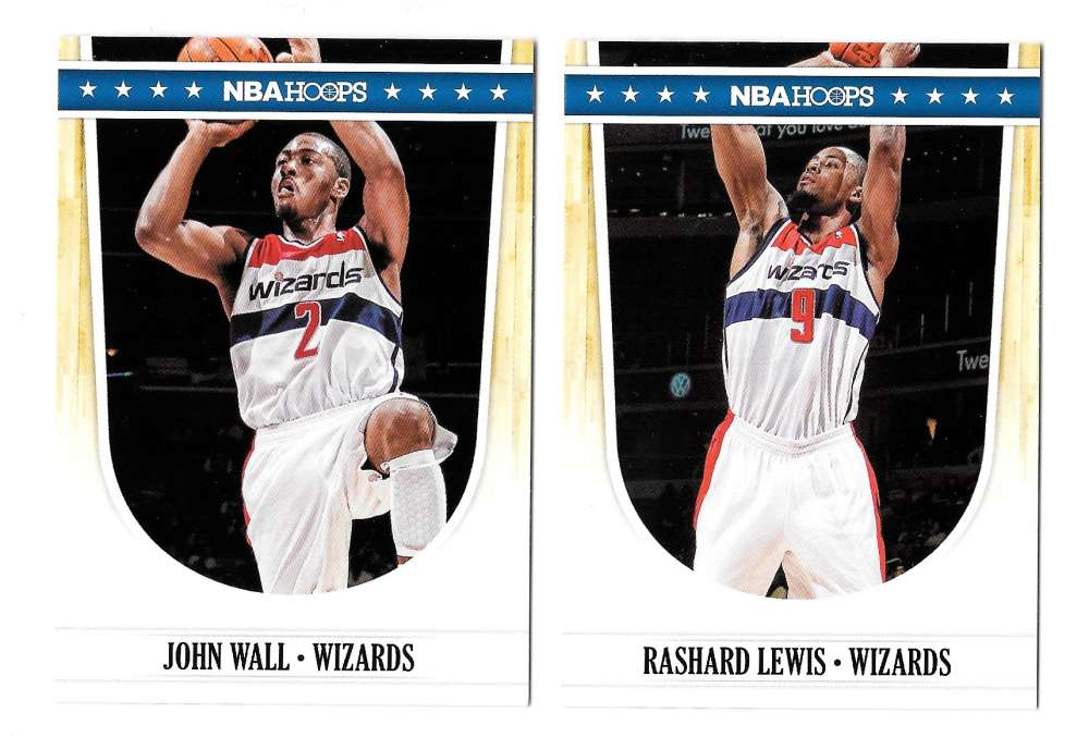 2011-12 Hoops Basketball Team Set - Washington Wizards