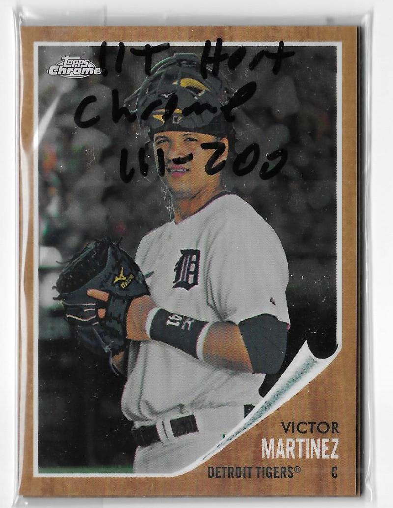 2011 Topps Heritage Chrome (101-200) - DETROIT TIGERS Team Set