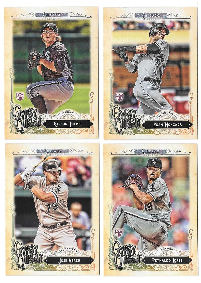 2017 Topps Gypsy Queen - CHICAGO WHITE SOX Team Set