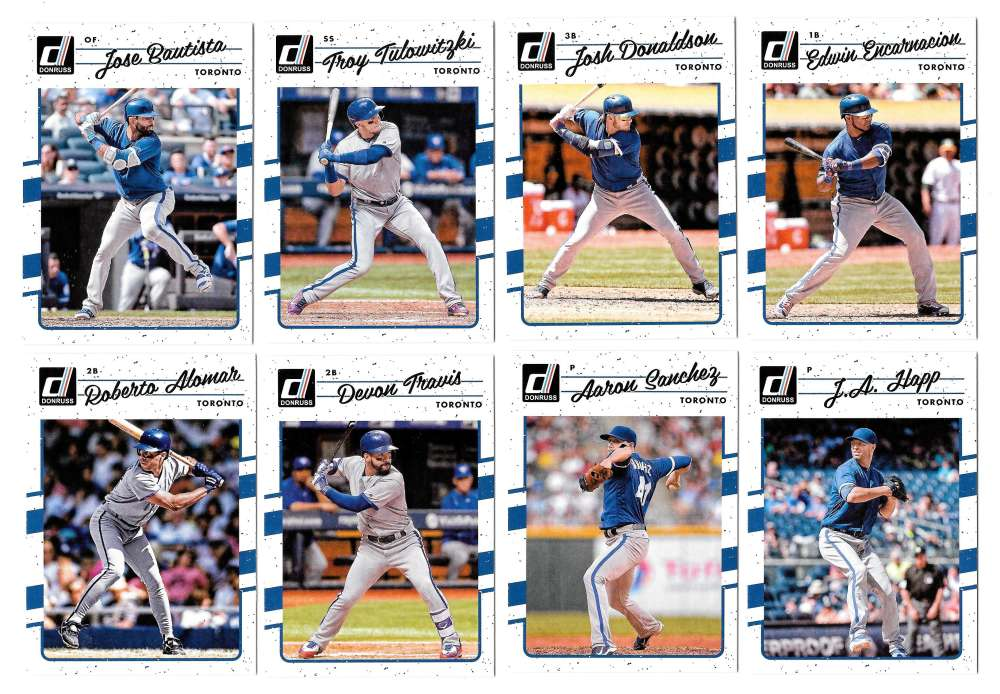 2017 Donruss (Base 46-195) - TORONTO BLUE JAYS