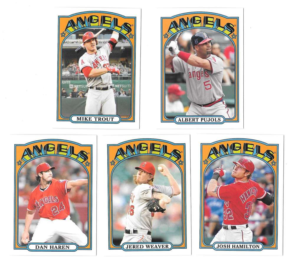 2013 Topps '72 Minis - LOS ANGELES ANGELS