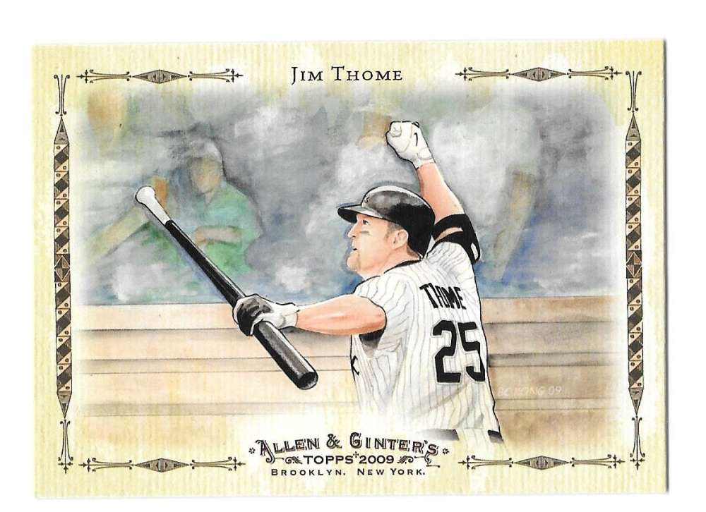 2009 Topps Allen & Ginter Baseball Highlights - CHICAGO WHITE SOX