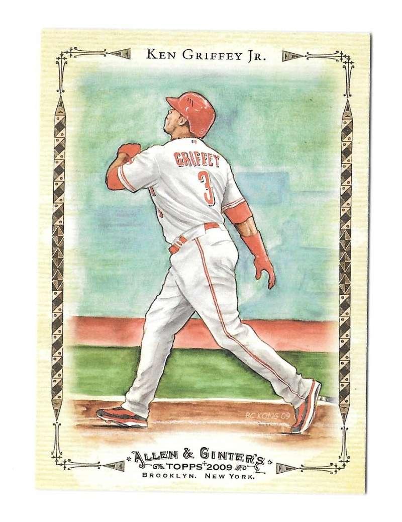 2009 Topps Allen & Ginter Baseball Highlights - CINCINNATI REDS