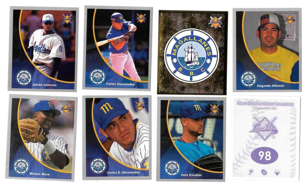 2003-04 Lineup Venezuela Stickers - Navegantes del Magallanes