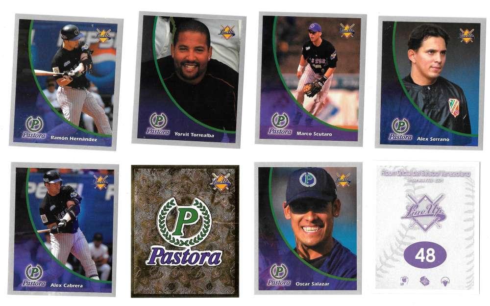 2003-04 Lineup Venezuela Stickers - Pastoras de Los Llanos