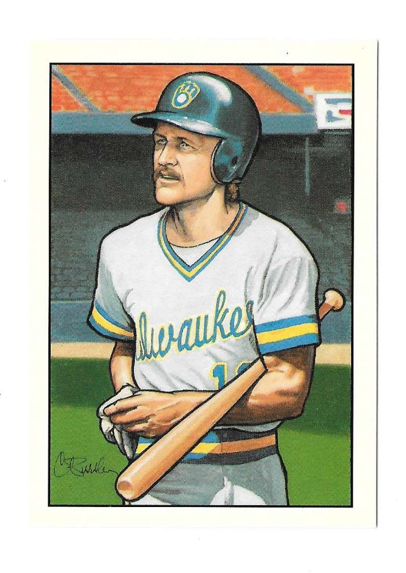 1990 Bowman Tiffany Art Inserts - Milwaukee Brewers