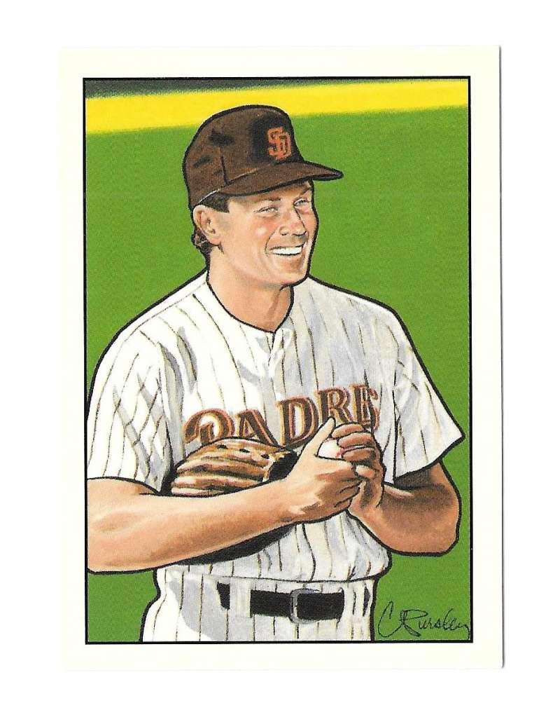 1990 Bowman Tiffany Art Inserts - San Diego Padres