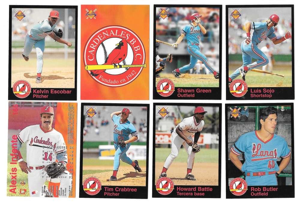 1995-96 LineUp Venezuelan Team Set - Cardenales de Lara