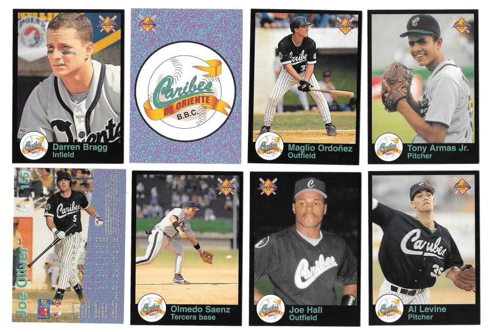 1995-96 LineUp Venezuelan Team Set - Caribes de Oriente