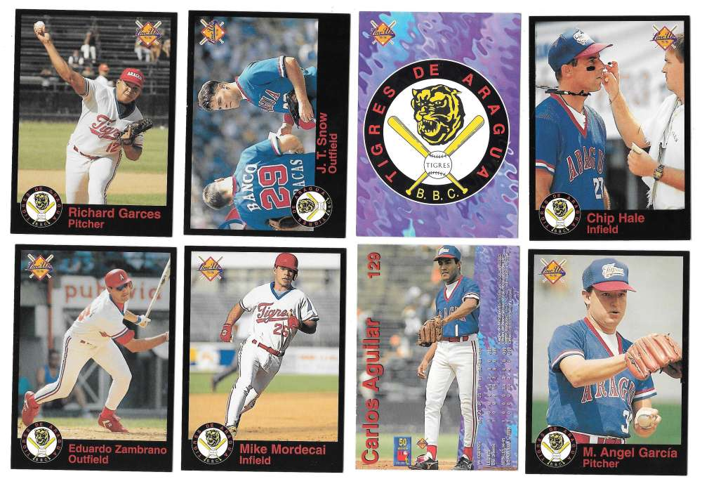 1995-96 LineUp Venezuelan Team Set - Tigres de Aragua