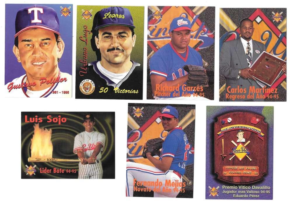 1995-96 LineUp Venezuelan - El Premio