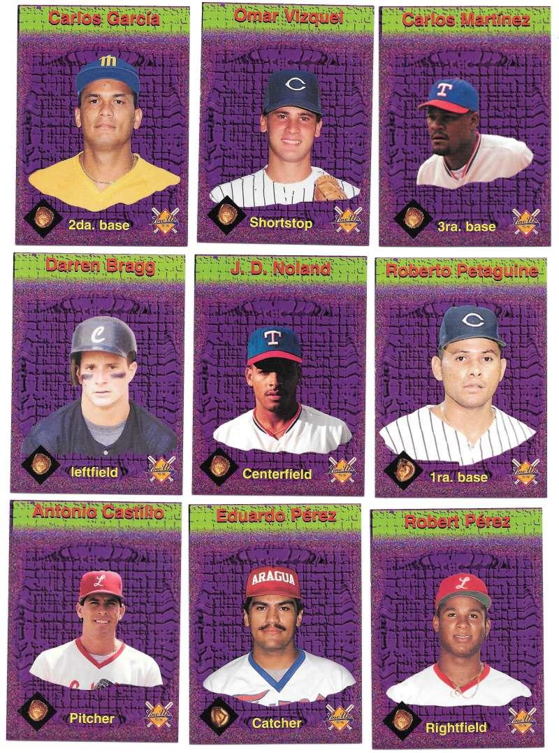 1995-96 LineUp Venezuelan - Guantes De Oro