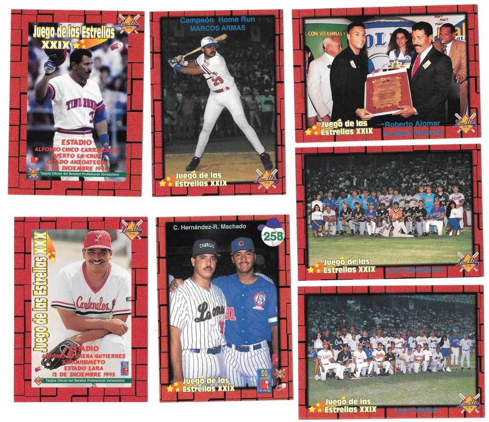 1995-96 LineUp Venezuelan - Juego de las Extrellas XXIX