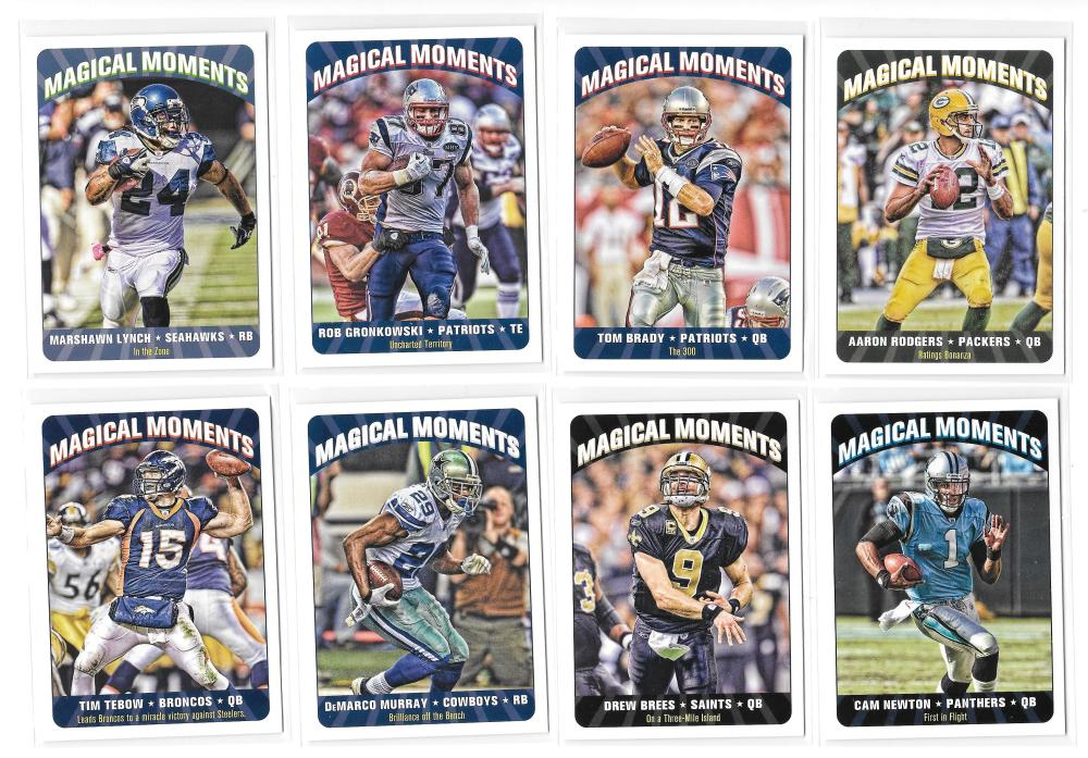 2012 Topps Magic Magical Moments (20 card insert Football set)