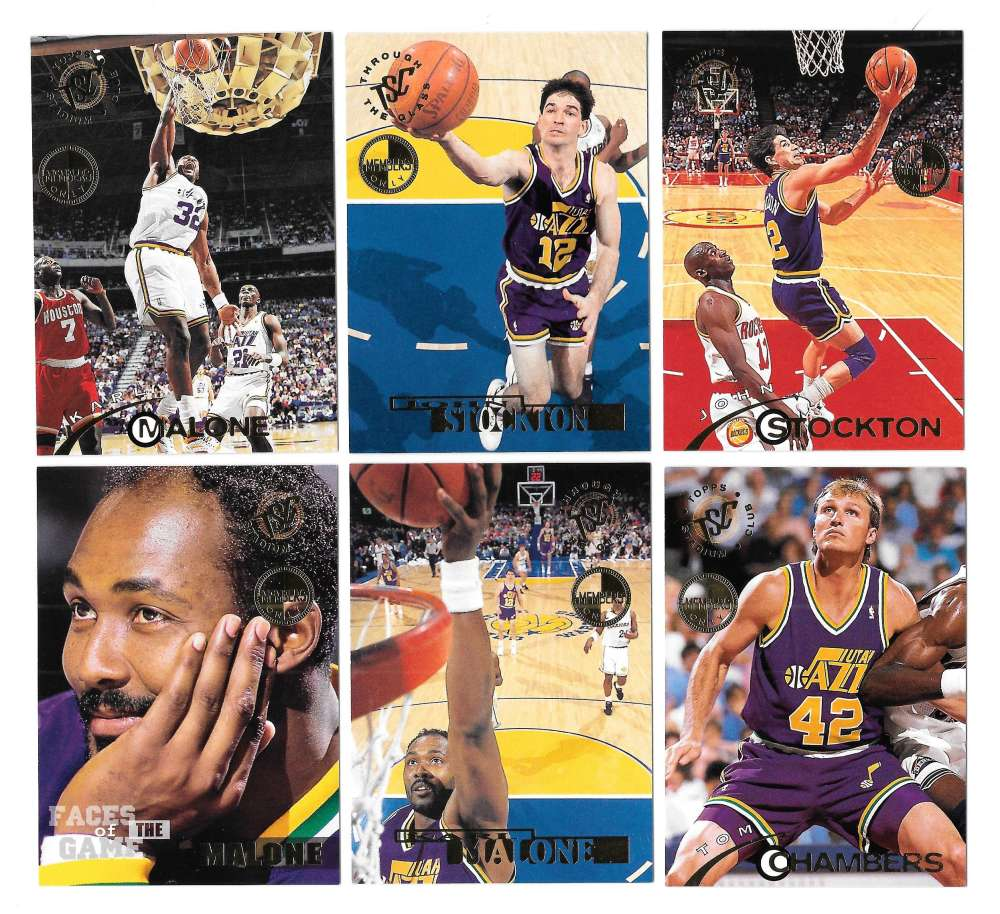 1994-95 Topps Stadium Club Members Only Parallel Basketball Utah Jazz