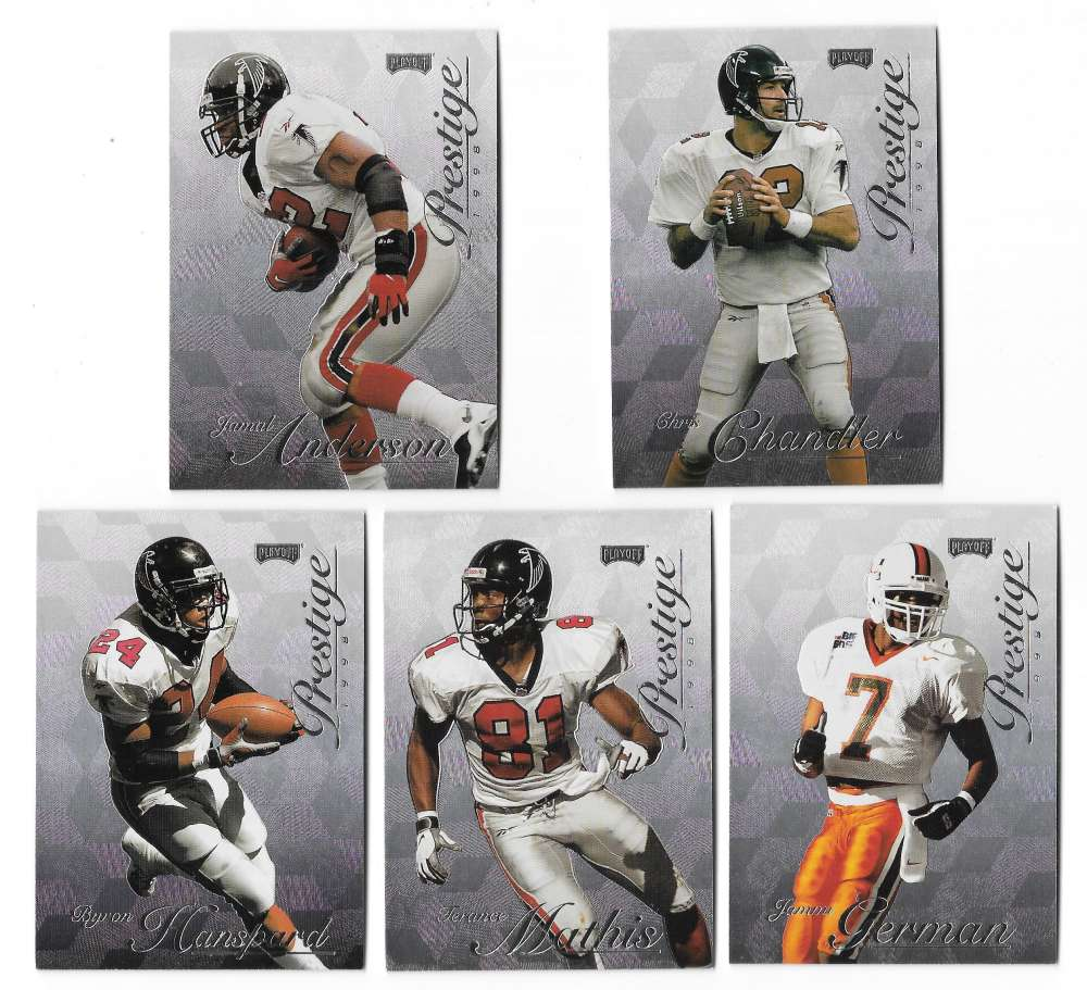 1998 Playoff Prestige Hobby Football Team Set - ATLANTA FALCONS