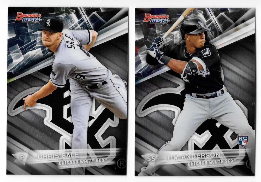 2016 Bowman's Best - CHICAGO WHITE SOX