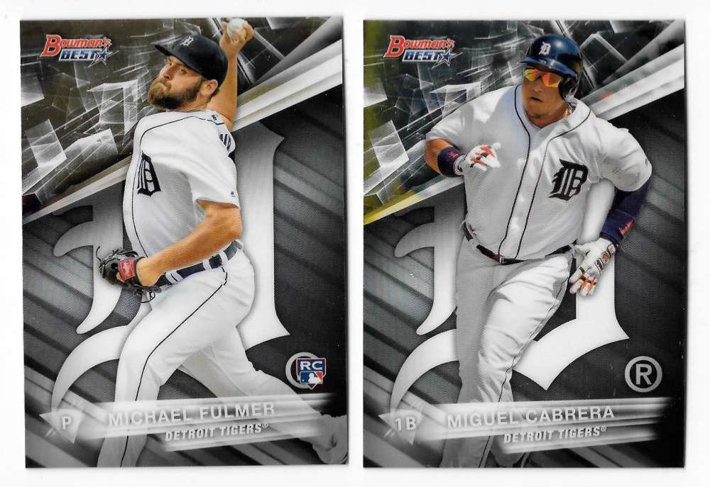 2016 Bowman's Best - DETROIT TIGERS