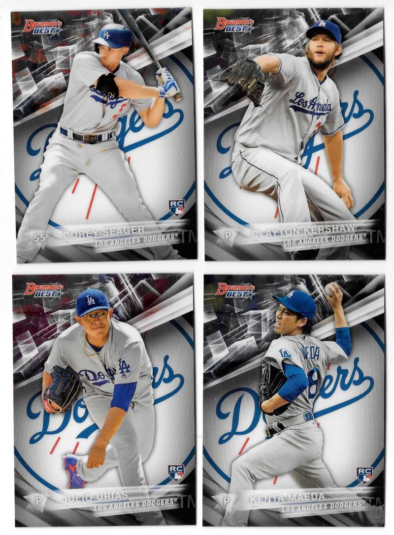 2016 Bowman's Best - LOS ANGELES DODGERS