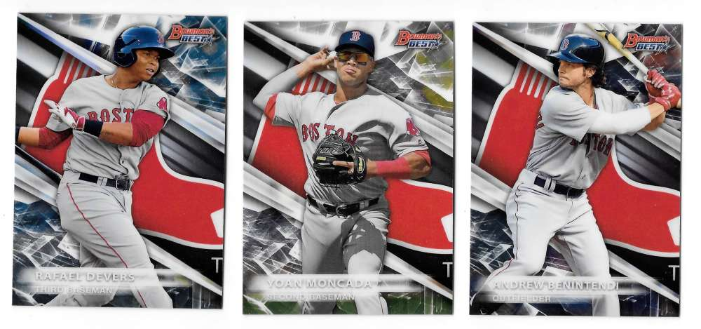2016 Bowman's Best Top Prospects - BOSTON RED SOX