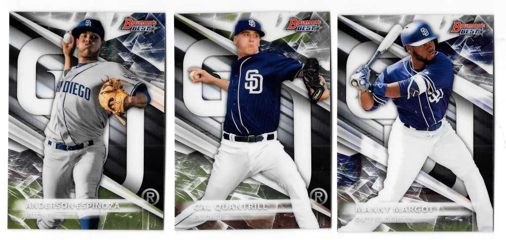 2016 Bowman's Best Top Prospects - SAN DIEGO PADRES