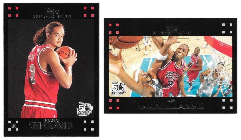 2007-08 Topps Basketball - Chicago Bulls