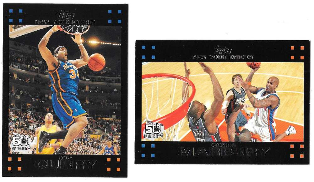 2007-08 Topps Basketball - New York Knicks
