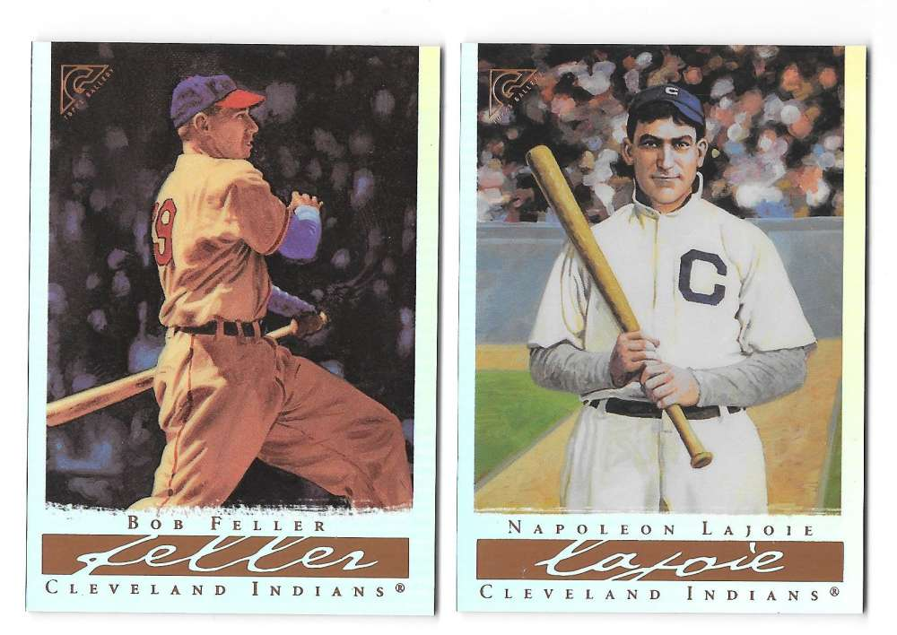 2003 Topps Gallery Hall of Fame Artist Proofs - INDIANS
