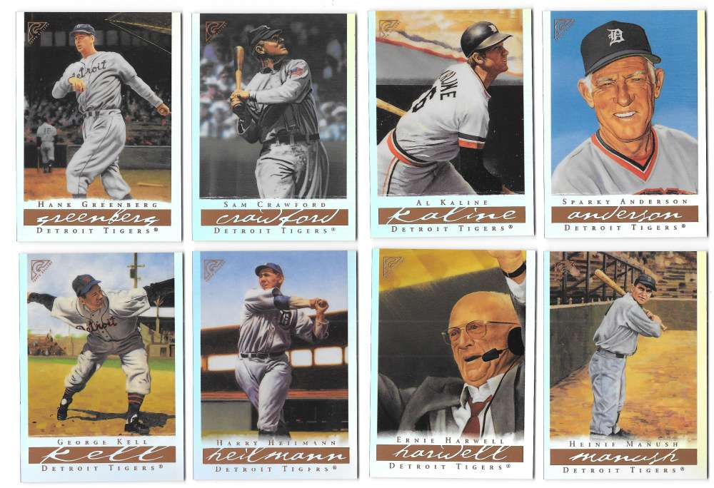 2003 Topps Gallery Hall of Fame Artist Proofs - TIGERS