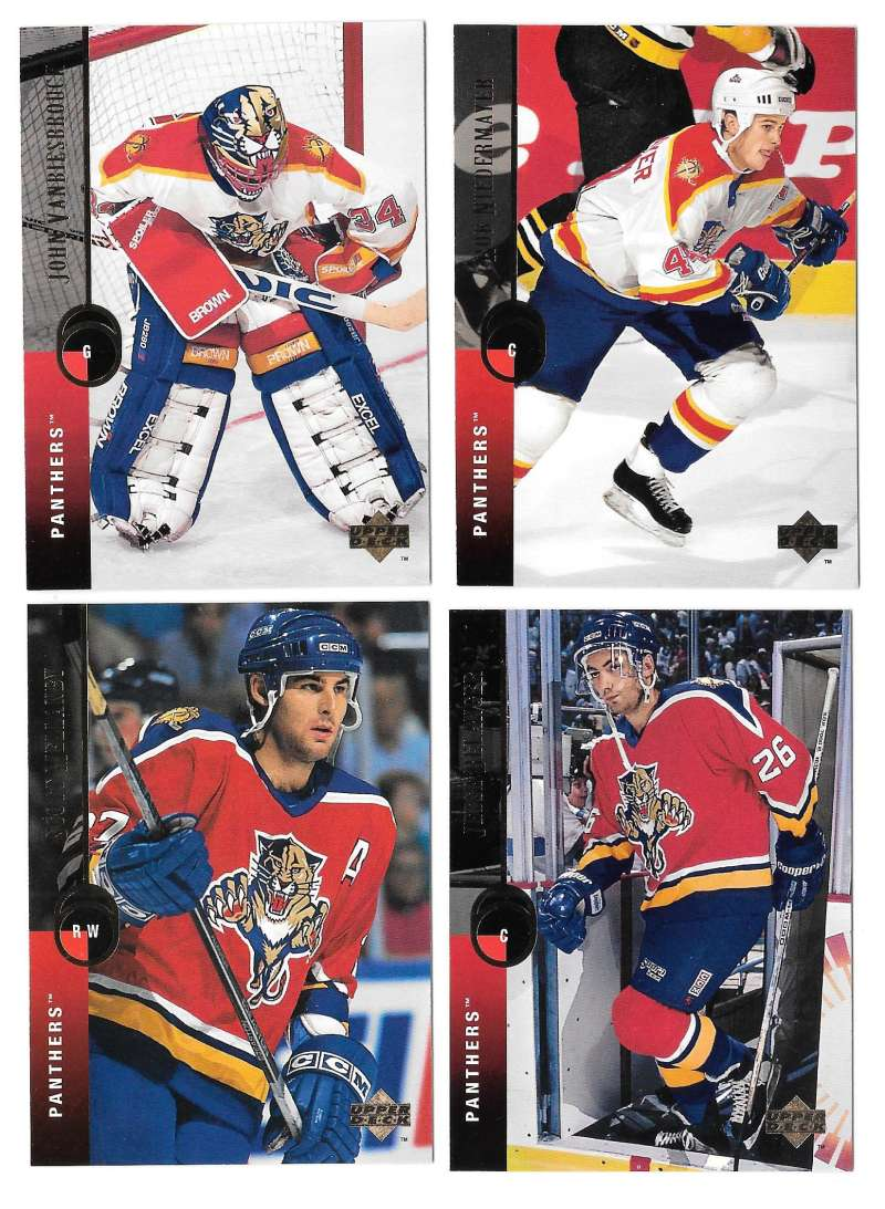 1994-95 Upper Deck Hockey Team Set - Florida Panthers