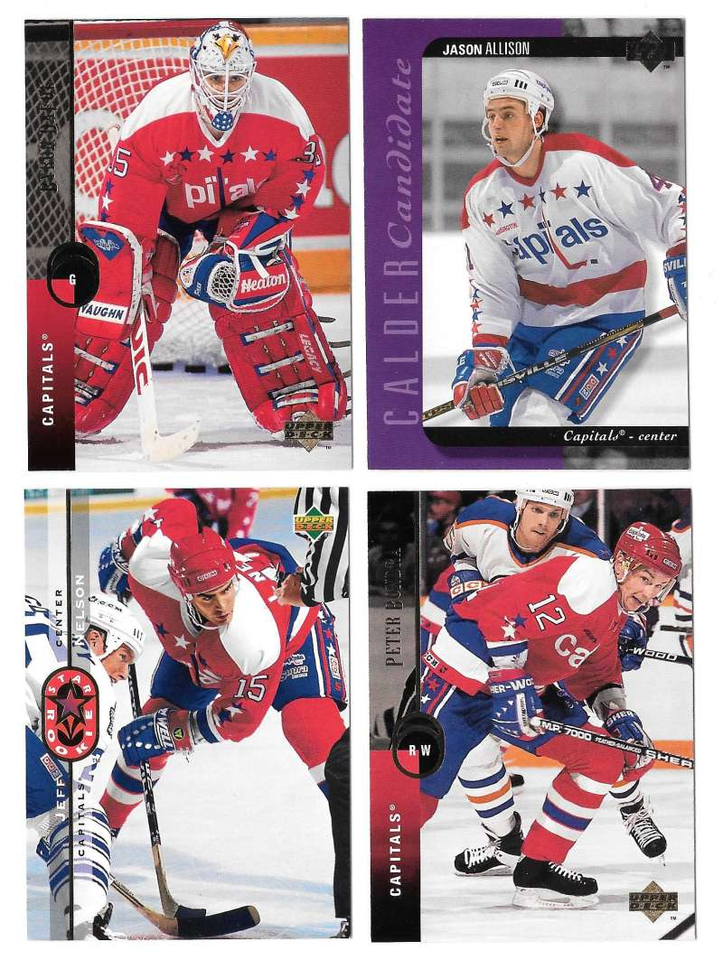 1994-95 Upper Deck Hockey Team Set - Washington Capitals