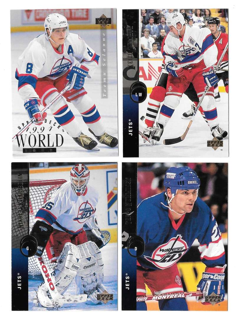 1994-95 Upper Deck Hockey Team Set - Winnipeg Jets