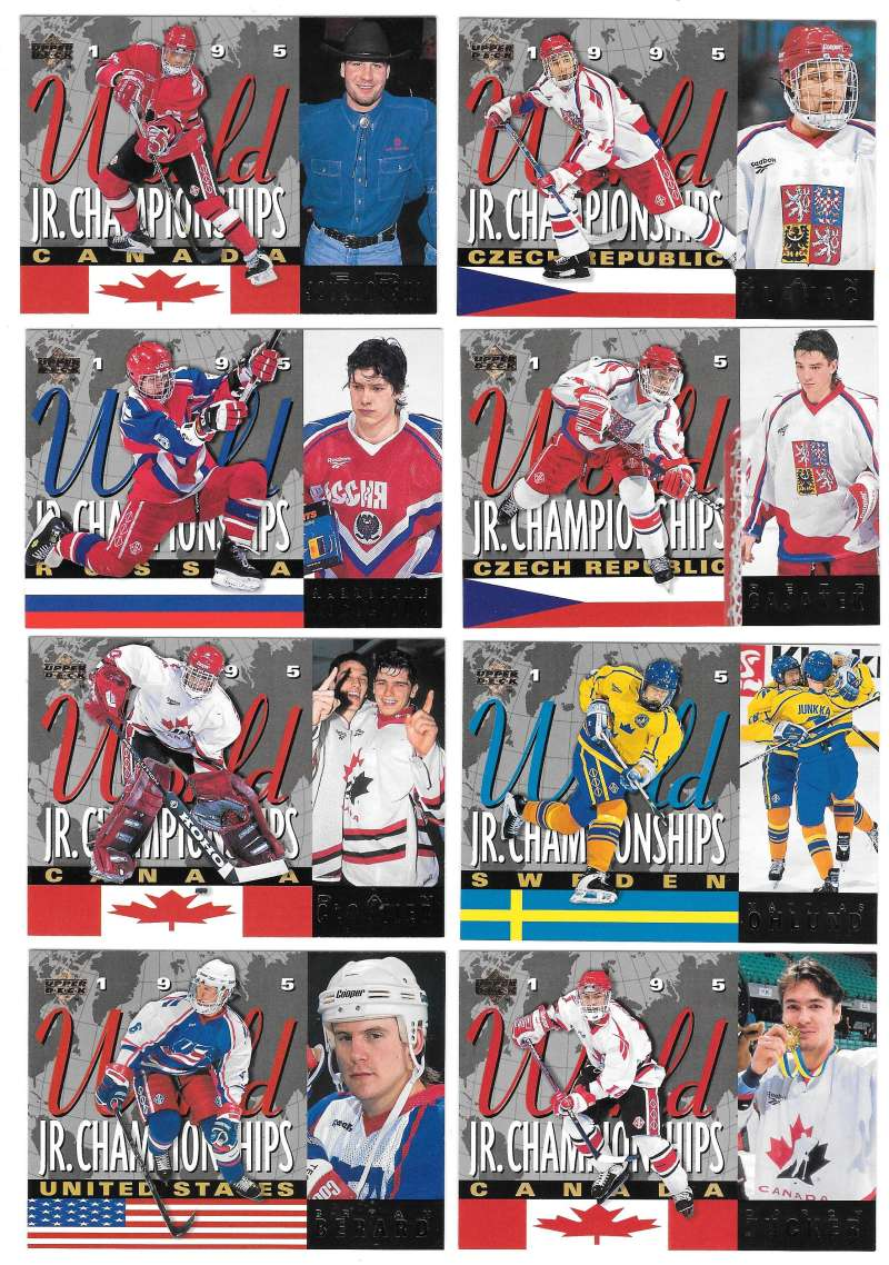 1994-95 Upper Deck Hockey - World Junior Championships
