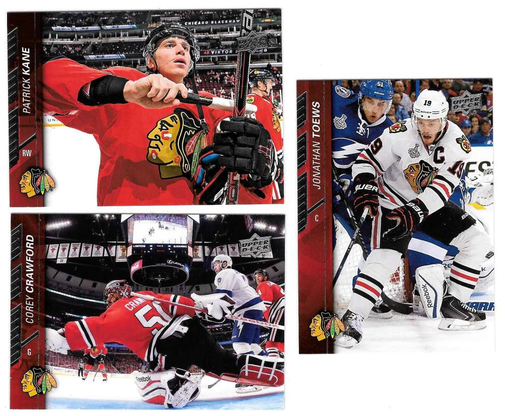 2015-16 Upper Deck (Base) Hockey Team Set - Chicago Blackhawks