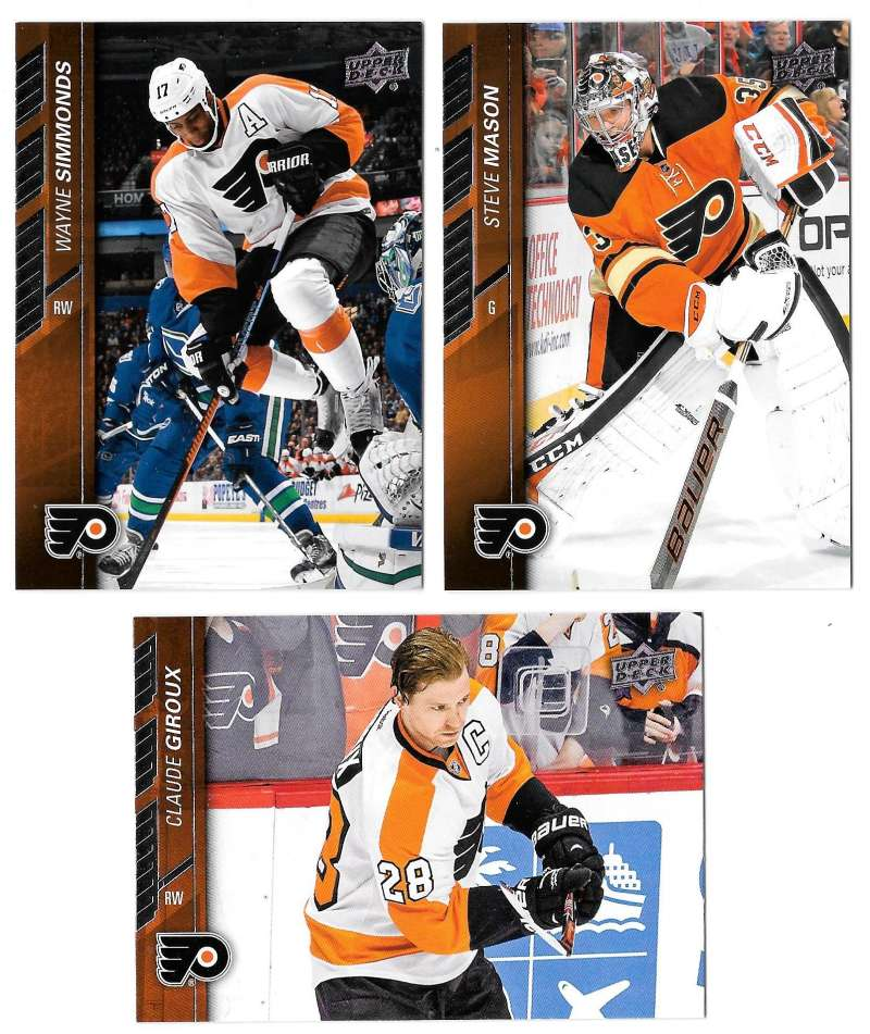 2015-16 Upper Deck (Base) Hockey Team Set - Philadelphia Flyers