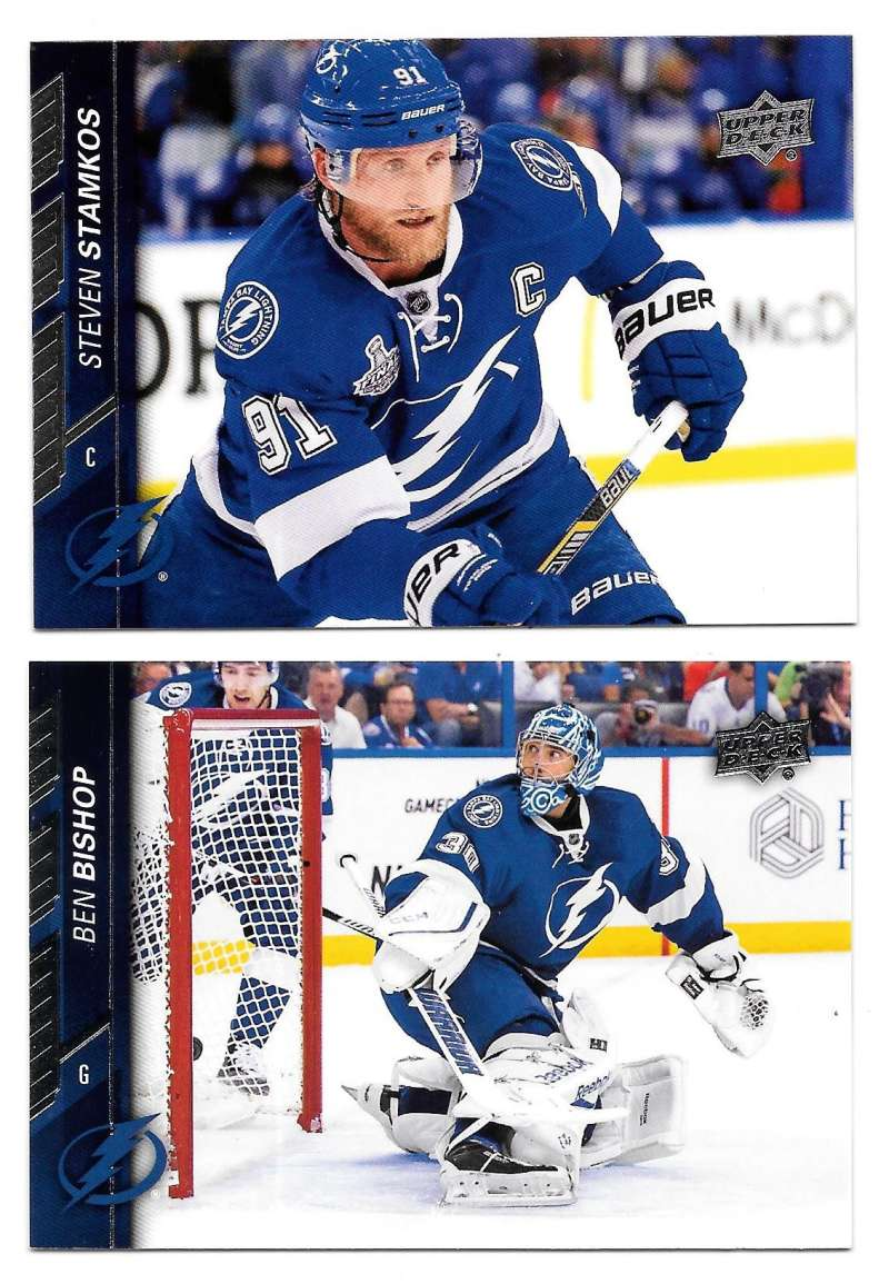 2015-16 Upper Deck (Base) Hockey Team Set - Tampa Bay Lightning