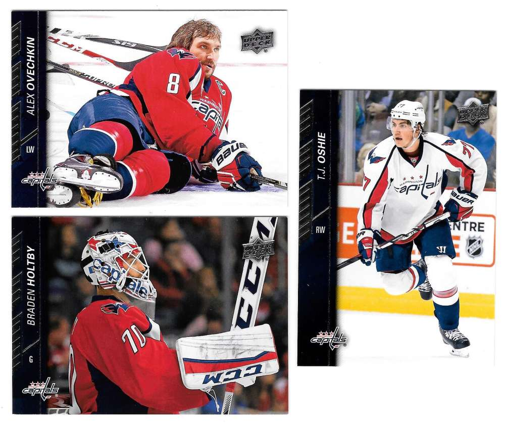 2015-16 Upper Deck (Base) Hockey Team Set - Washington Capitals
