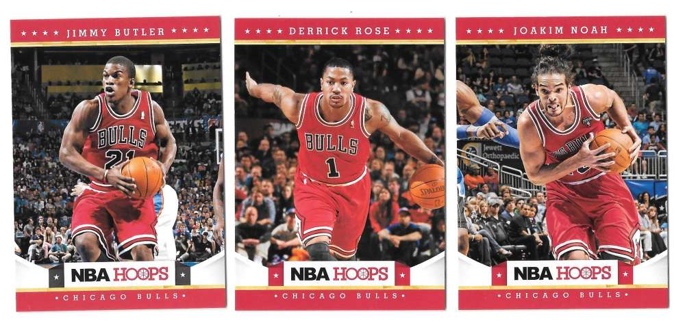 2012-13 NBA Hoops Team Set - Chicago Bulls
