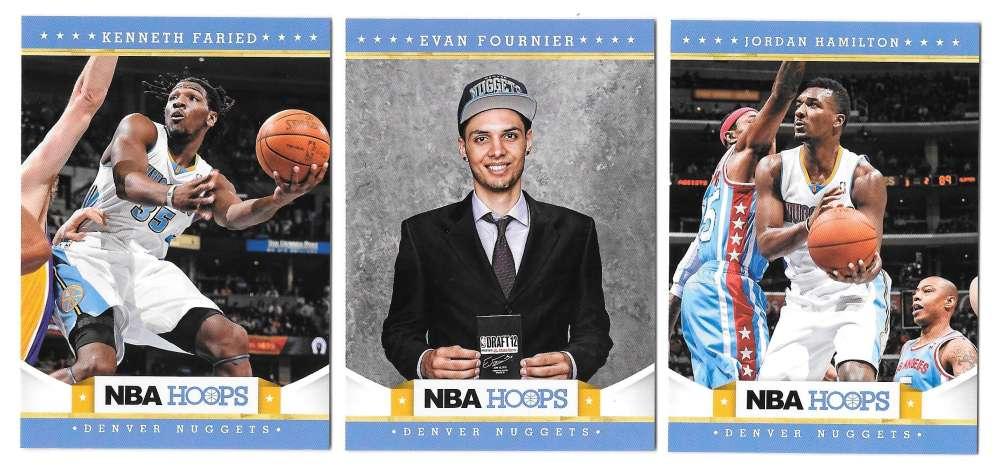 2012-13 NBA Hoops Team Set - Denver Nuggets