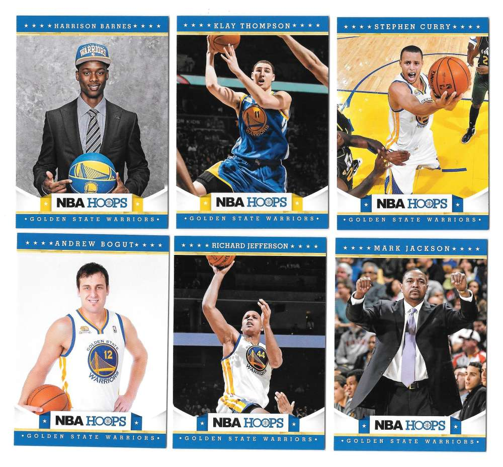 2012-13 NBA Hoops Team Set - Golden State Warriors