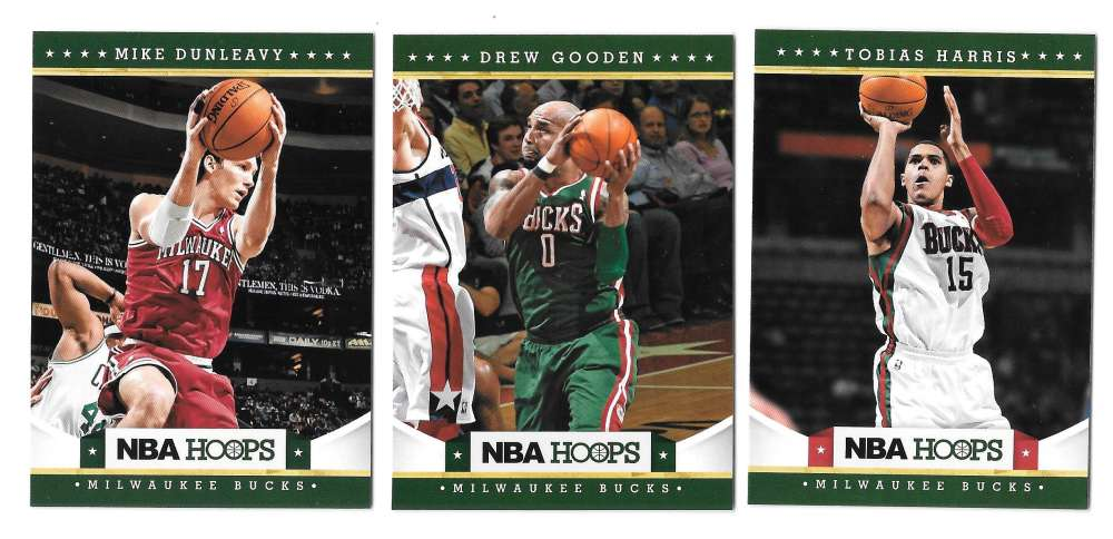 2012-13 NBA Hoops Team Set - Milwaukee Bucks